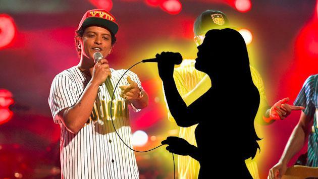 Bruno Mars reclutó a esta otra artista de Planeta para su gira