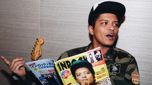 Bruno Mars respondió a estas preguntas de sus fans