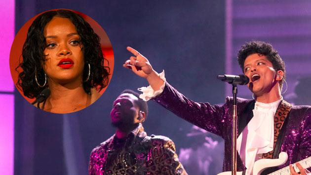 Bruno Mars vuelve a ser el número uno, desplazando a Rihanna