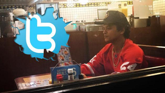 Bruno Mars y Twitter no son la mejor combinación