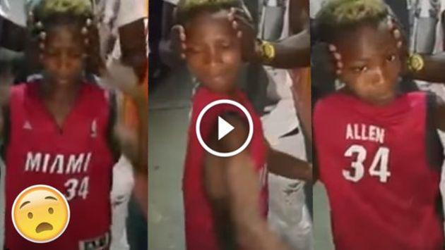 OMG! Niño hace el movimiento de cabeza tipo 'El exorcista' [VIDEO]