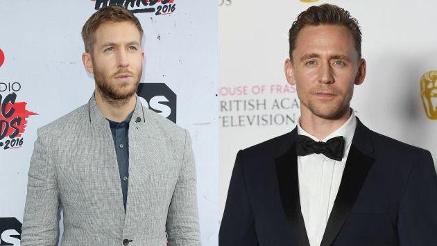 Primero la novia, ¿luego el trabajo?... Tom Hiddleston reemplazaría a Calvin Harris en Armani