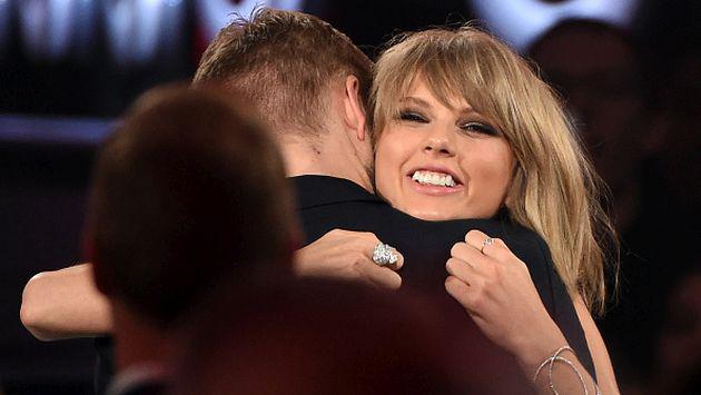Así felicitó Calvin Harris a Taylor Swift por ganar un Grammy [FOTO]