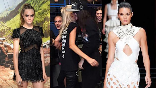 Cara Delevingne y Kendall Jenner bailan eufóricamente en concierto de One Direction [VIDEO]