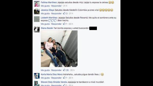 Usaba Facebook para dar 'like' a chicas sexys y su esposa lo castigó así