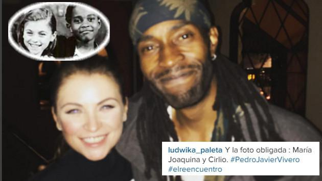 ¡'María Joaquina' y 'Cirilo' se encuentran después de 26 años! [FOTOS]