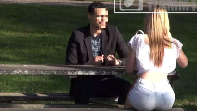 Ellos huyeron de su sexy cita cuando ella les confiesa este secreto [VIDEO]