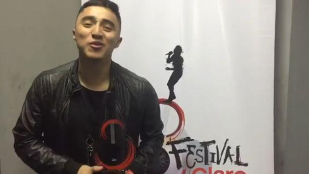 ¡Conoce a Johnny Lau, ganador del 'Festival Claro 2016'! [VIDEO]