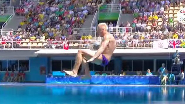¿Este es el peor clavado de Río 2016? ¡Y lo hizo un exmedallista de oro! [VIDEO]