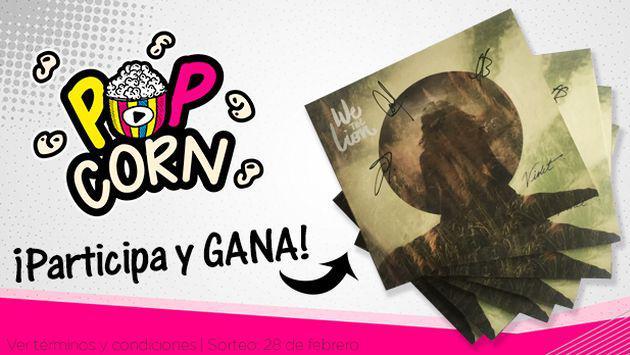 ¡Participa y gana uno de los CDs autografiados de We The Lion!