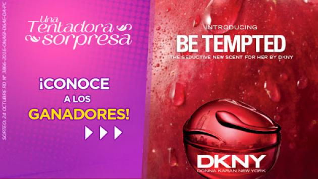 ¡Conoce a las ganadoras de las fragancias 'Be Tempted' by DKNY!