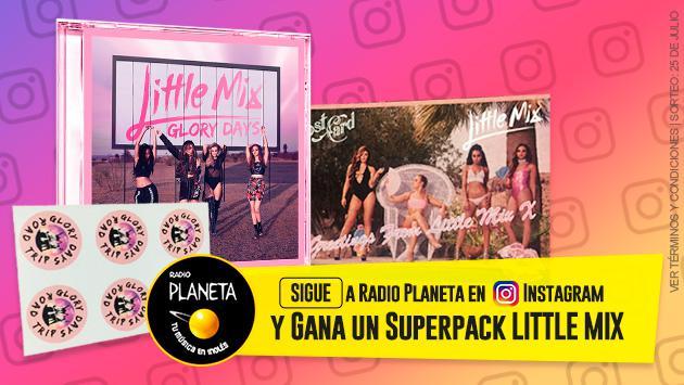 ¡Participa y gana un Superpack Little Mix 'Glory Days'!