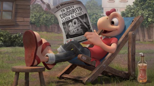 ¡Condorito llega al cine en 3D en 2017!