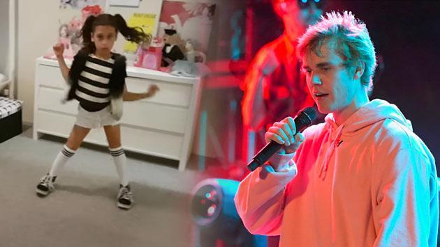 Conoce a la niña que ganó concurso para bailar junto a Justin Bieber en concierto [VIDEO]