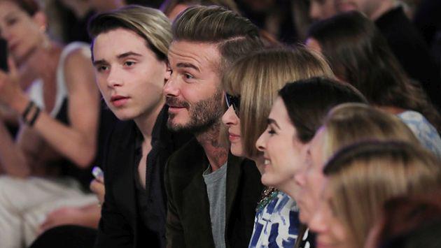 OMG! David Beckham le hizo pasar 'roche' a su hijo Brooklyn [FOTO]
