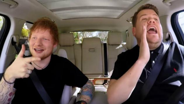 ¡Ed Sheeran estará en Carpool Karaoke de The Late Late Show! [VIDEO]