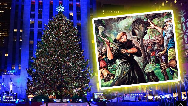 ¿De dónde surge la tradición del árbol de Navidad?
