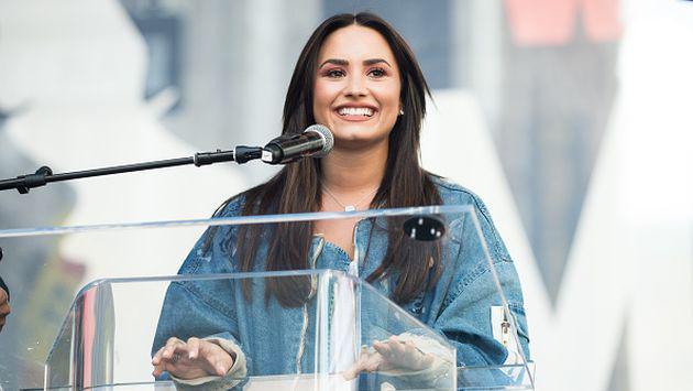 ¿Demi Lovato demostró así ser la fan N°1 de su nuevo novio? [FOTOS]