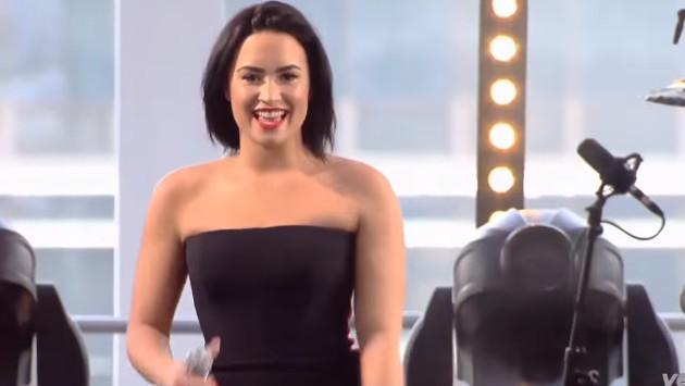 Demi Lovato y su visita a Brasil ¡Mira el concierto que dio! [VIDEO]
