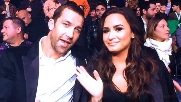 ¡Por fin! Demi Lovato oficializó su noviazgo con Luke Rockhold con esta foto