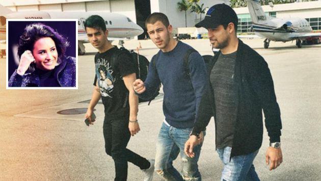Demi Lovato pasó sus vacaciones junto a Joe Jonas y Wilmer Valderrama [FOTO]