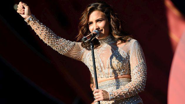 ¡Demi Lovato cambió radicalmente de look y sorprendió a todos sus fans! [FOTO]