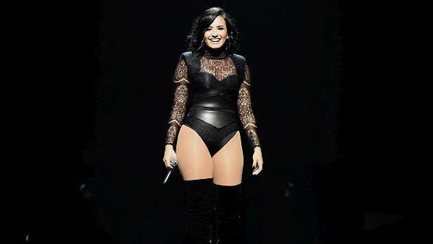 Demi Lovato fue sorprendida por los actores de 'The Walking Dead' [VIDEO]
