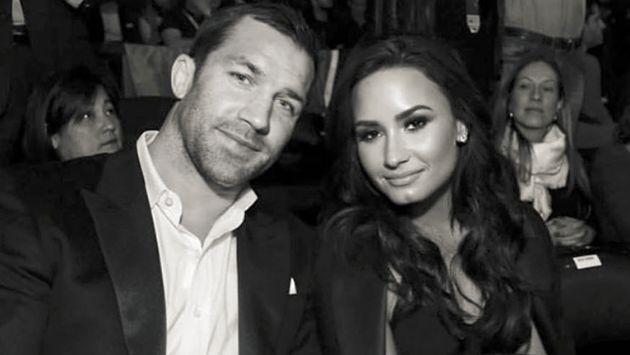 OMG! ¡Luke Rockhold, novio de Demi Lovato, es amenazado de muerte!
