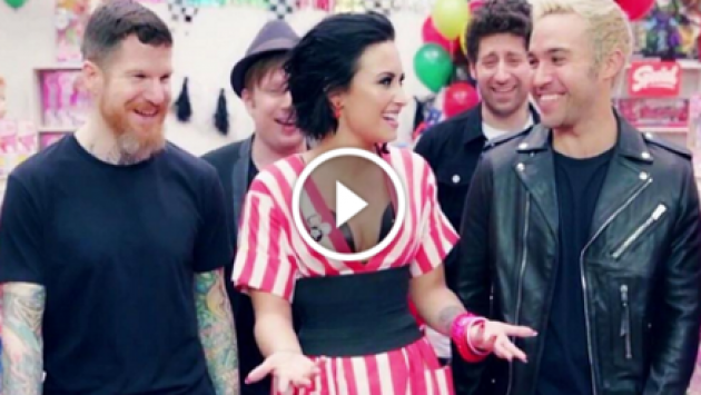 Demi Lovato y Fall Out Boy hicieron divertida parodia de un clásico de 'N Sync [VIDEO]