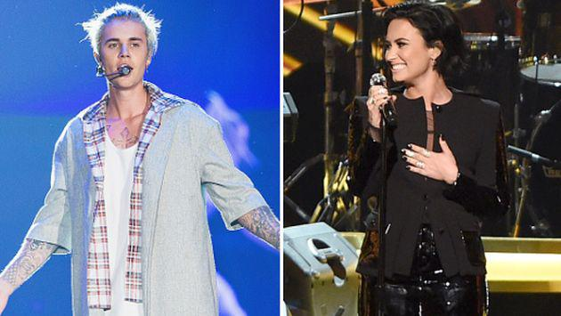 Justin Bieber y Demi Lovato son adictos a Masquerade y Snapchat [FOTOS]