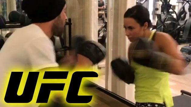Demi Lovato y su entrenamiento al estilo de la UFC