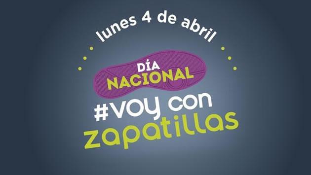 Participa del Día Nacional de Voy con Zapatillas ¡y gánate un par!