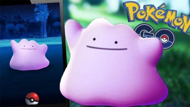 Dicen que Ditto ya apareció en 'Pokémon GO' y que se encuentra en esta región