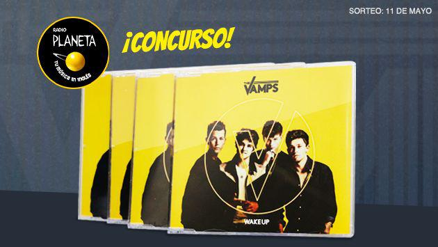 ¡Sorteamos 4 discos 'Wake Up' de The Vamps!