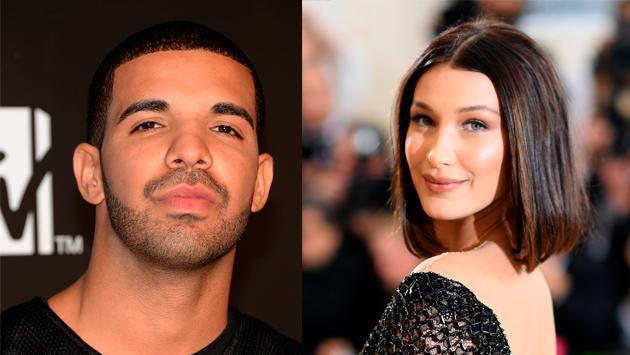 ¡Drake y Bella Hadid se fueron juntos de un evento!