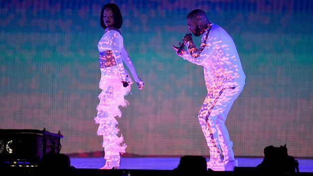¿Drake le declaró su amor a Rihanna en pleno concierto? [VIDEO]
