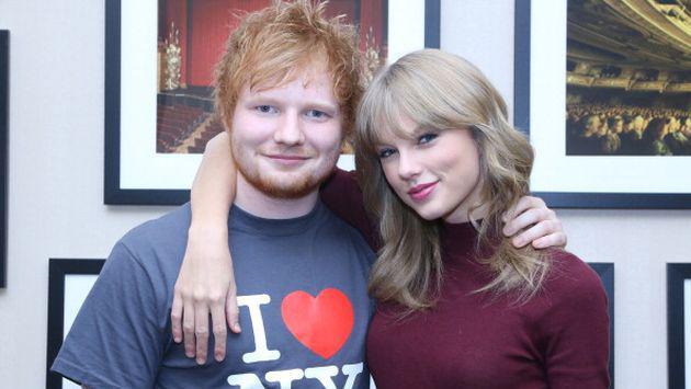 Esto es lo que Ed Sheeran y Taylor Swift tienen en común a parte de la música