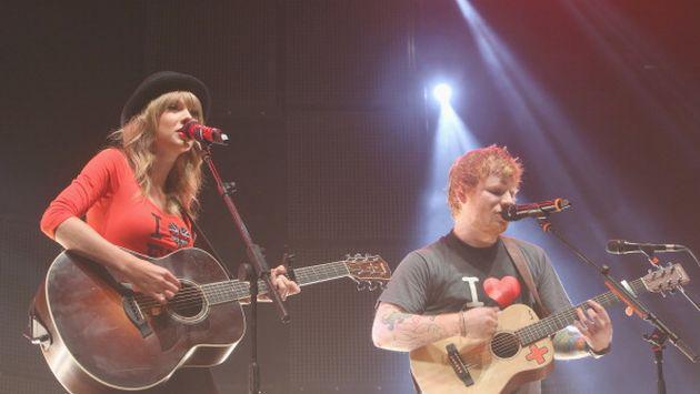 ¿Ed Sheeran reveló cuándo será el estreno del próximo disco de Taylor Swift?