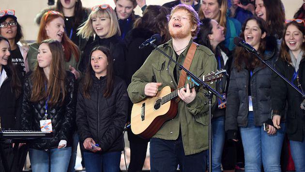 Ed Sheeran lanzará canciones inéditas que compuso durante estancia en país africano