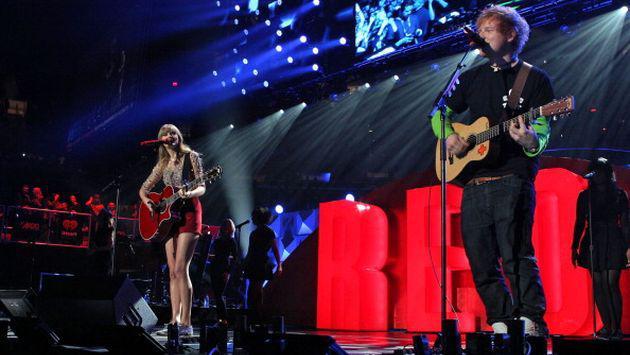 ¿Ed Sheeran y Taylor Swift preparan una canción juntos?
