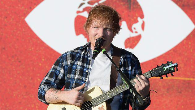 ¡Ed Sheeran fue condecorado por su contribución a la música! [FOTO]