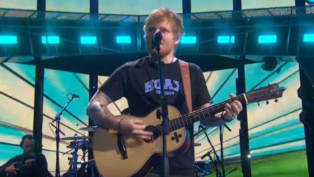 Brit Awards 2017: Ed Sheeran interpretó 'Castle On The Hill' y 'Shape Of You' [VIDEO]