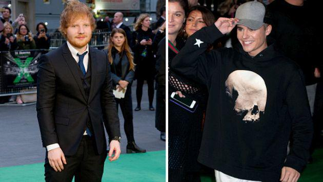Ed Sheeran estrenó su documental 'Jumpers for Goalposts' junto a Justin Bieber [FOTO]