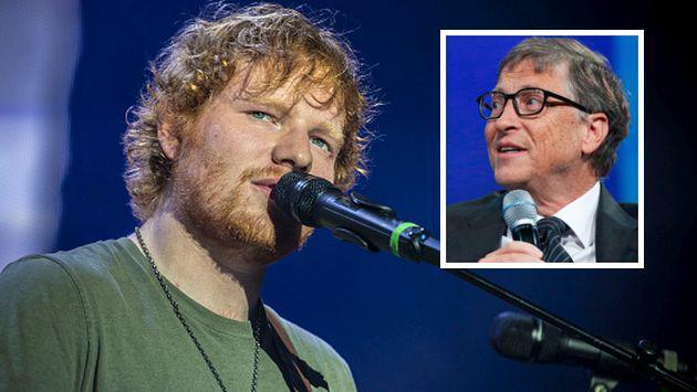 ¡Bill Gates llevaría la música de Ed Sheeran si tuviera que vivir en una isla desierta! [VIDEO]