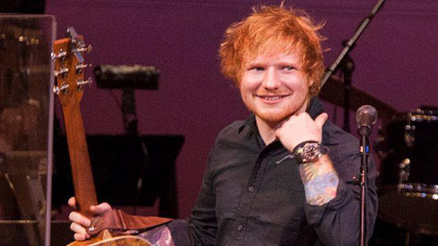 OMG! Ed Sheeran confesó que canta mejor cuando está con resaca
