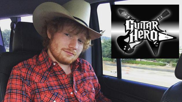 Haz tu propio videoclip de 'Sing' de Ed Sheeran con Guitar Hero Live