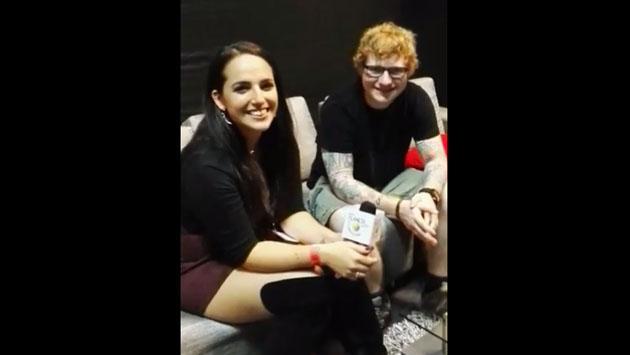 Ed Sheeran, antes de su concierto en Lima, conversó en vivo con Planeta [VIDEO]