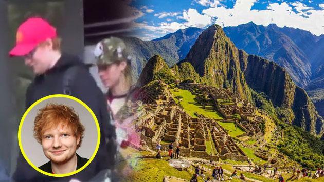 Ed Sheeran, antes de su concierto en Lima, visitó Machu Picchu junto a su novia [FOTOS]