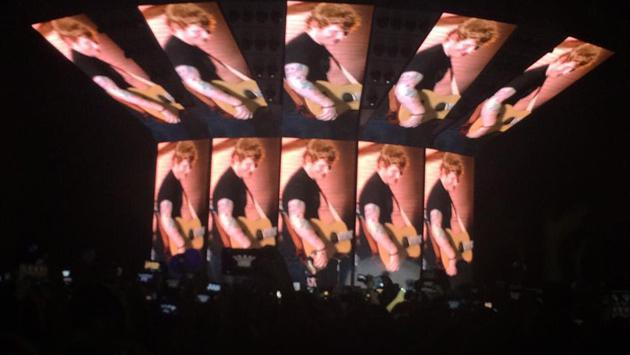 Ed Sheeran, avasallador en su concierto en Lima [FOTOS Y VIDEOS]