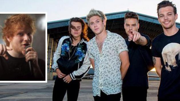Ed Sheeran descartó contribución en el nuevo álbum de One Direction